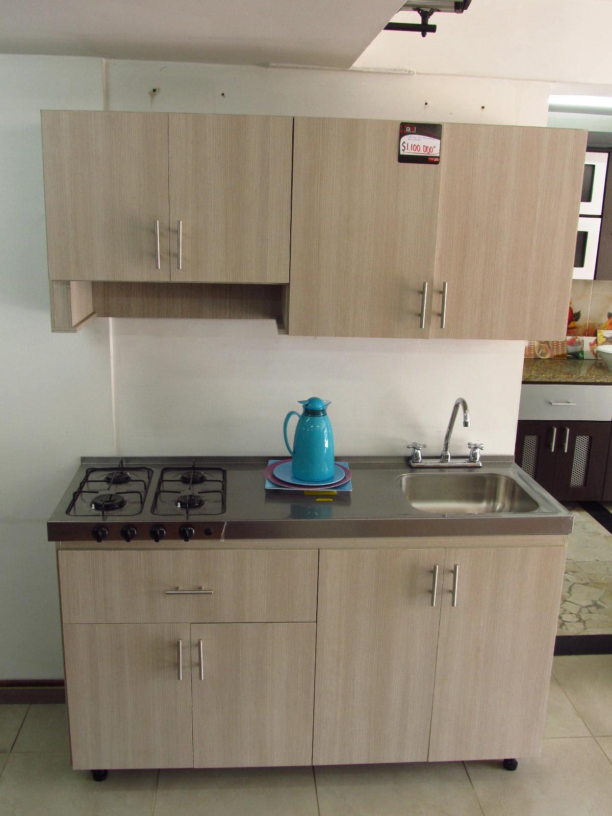 Cocina en acero inoxidable for Cocinas integrales con horno