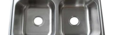 SIS-202-DI GEMINI - Drop-in igual doble fregadero de la cocina