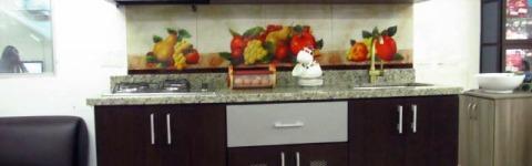 cocina granito santa cecilia light