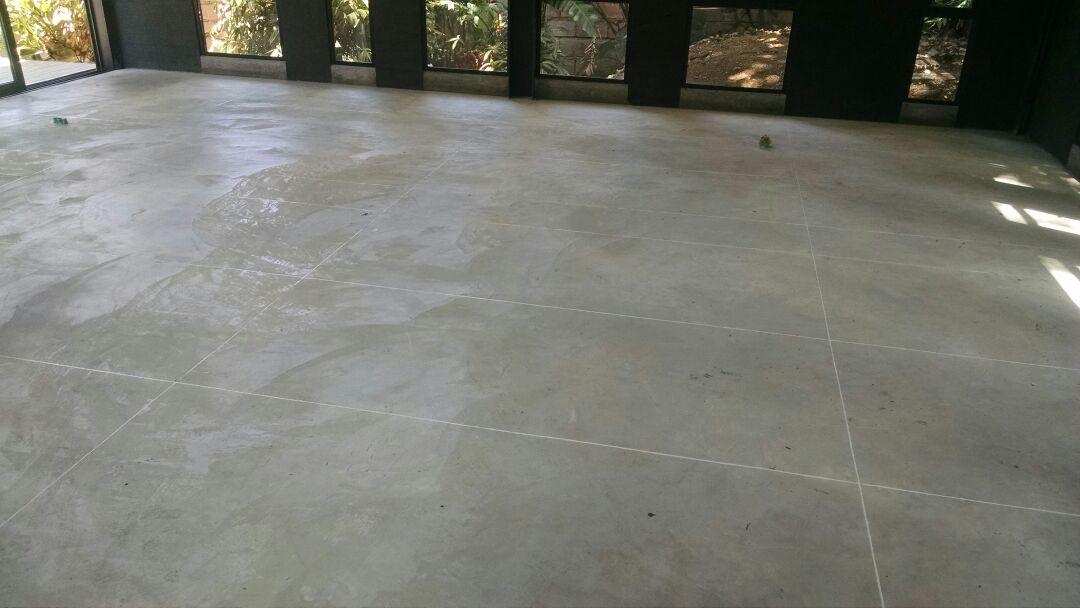 Sellado de concreto for Piso cemento pulido